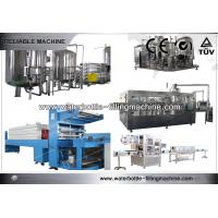 Buy cheap Industrial 3 in 1 Monoblock Vertical Filling Machine Soft Drink Bottling Equipment from wholesalers
