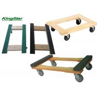Buy cheap Hardwood 1000 Lb Heavy Duty Furniture Moving Dolly With Rubber Cap Ends from wholesalers