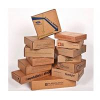 Buy cheap Moistureproof Decorative Cardboard Boxes , Corrugated Gift Boxes Logo Printed from wholesalers