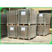 Buy cheap Hard sheet 2.5mm Grey Board Paper For Book Cover / Double Grey Cardboard from wholesalers