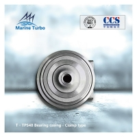 Buy cheap ABB Turbocharger bearing housing / TPS48 Turbo Bearing Casing Clamping Type For Marine Diesel Engines from wholesalers