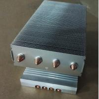 Buy cheap Copper Sintered Heat Pipe And Aluminum Fins Heat Sink For Electronic Instruments from wholesalers