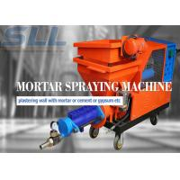 Buy cheap Small agitator noise diesel transport engine plastering machine from wholesalers