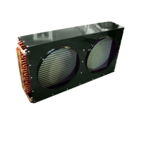 Buy cheap CA Copper Air Cooled Condenser Welding Connection For Refrigeration Units from wholesalers