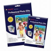 Buy cheap 190gsm Premium Silky RC Inkjet Photo Papers, A4/4R, Brilliant Colors Contrast from wholesalers