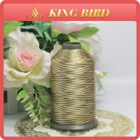 Buy cheap Polyetser Variegated Embroidery Bobbin Threads Fancy Glow in the Dark from wholesalers
