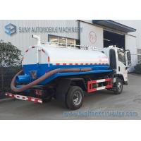 Buy cheap FAC 4*2 2m3 Sewage Suction Tanker Truck With Vacuum Pump New Design Waste Water Clean Truck from Wholesalers