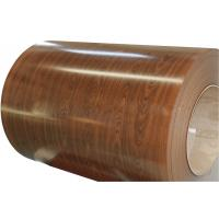 Buy cheap wood color prepainted Steel Coil from wholesalers