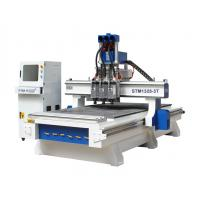 Buy cheap 4x8 CNC Router for sale with Multi-spindles changing automatically from wholesalers