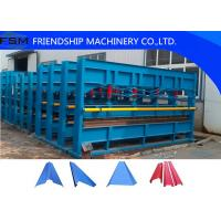 Buy cheap Hydraulic Plate Bending Roll Forming Machine for Factory / Warehouse / Garage from wholesalers