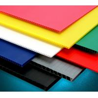 Buy cheap Recycle Hollow Corrugated Board / Twin Wall 4 x 8 Corrugated Plastic Panels from wholesalers