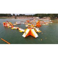 Buy cheap France Inflatable Aqua Park Games With TUV Certification For Lake from wholesalers