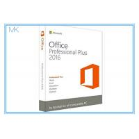 Buy cheap Original Key Microsoft Office 2016 Professional Plus Software Retailbox With USB from wholesalers