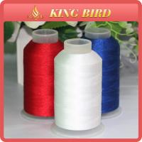 Buy cheap Customized Embroidery Filament Thread 120D / 2 High Temperature Resistant from wholesalers
