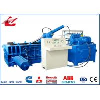 18.5 Kw Automatic Baling Machine Side Push Out 300x300 Bale Size For Aluminum Scrap