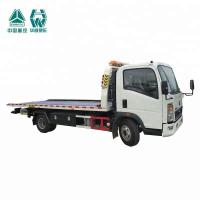 Buy cheap LHD Flat Bed Wrecker Tow Truck For Moving Indisposed Motor Vehicles 7600X2500X2650mm from wholesalers