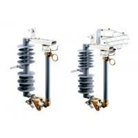 Ceramic 15kv Drop Out Fuse , Distribution Power Line Cutout Fuse