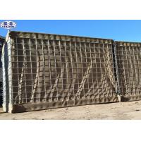 Buy cheap Flood Military Hesco Barriers / Army Wall Hesco Bastion Barrier Sand Wall from wholesalers