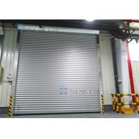 Buy cheap Roll Up Absolutely Encoder Workshop Security Doors Wind Load Max 30m / s from wholesalers