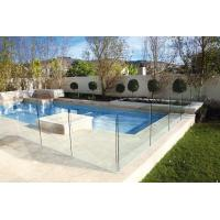 Buy cheap Polished Edges Low E Glass Pool Safety Fence With ASTM Standard from wholesalers