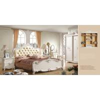 Buy cheap Mdf bedroom sets victorian style furniture queen bed frame 6033 from wholesalers
