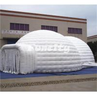 Buy cheap Popular Double Dome Air Inflatable Tent Outdoor Sale By Sewing Technology from wholesalers