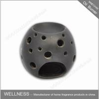 Buy cheap Beautiful Design Ceramic Fragrance Oil Burner Egg Shaped , Pattern Exposure from wholesalers