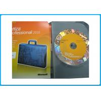 Buy cheap 32bit 64bit DVD Microsoft Office 2010 Professional Retail Box office 2010 pro plus office 2013 activation guarantee from wholesalers