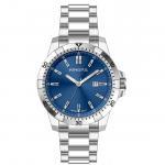 Buy cheap Men Custom steel strap stainless steel water resistant watch Free Logo OEM / ODM from wholesalers