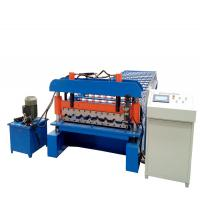 Buy cheap Aluzinc PPGI  Roofing Sheet Roll Forming Machine With Siemens Motor from wholesalers