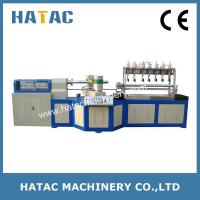 Buy cheap High Speed Paper Tube Cutting Machinery,Paper Straw Making Machine from wholesalers