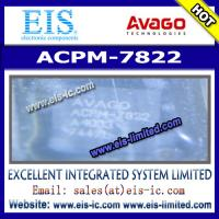 Buy cheap ACPM-7822 - AVAGO - JCDMA 4x4 Power Amplifier Module (898-925MHz) product