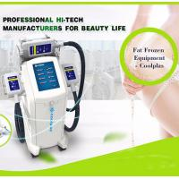 Buy cheap Cool Shaping Cryolipolysis Fat Freezing Machine Multi Language Floor Standing from wholesalers