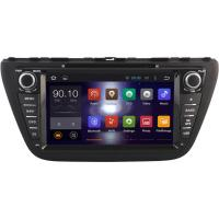 Buy cheap 2014+ Suzuki Car GPS Navigation System , Dual Zone Suzuki SX4 DVD Player Head Unit from wholesalers
