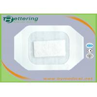Buy cheap Medical Care PU Film IV Wound Dressing With Absorbent Pad And CCK Paper Frame from wholesalers