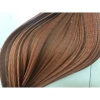 Buy cheap 420D 100% Nylon Tyre Cord Fabric , Brown Color Rubber Hoses Fishing Fabric from wholesalers