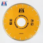 Buy cheap HUAZUAN 250mm diameter free chip marble diamond cutting discs from wholesalers