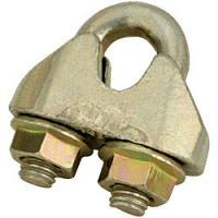 Buy cheap GALVANIZED MALLEABLE WIRE ROPE CLIP DIN 1142 from wholesalers