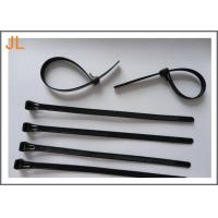 Buy cheap Self-locking black UL ROHS CE 3.6 mm width nylon cable tie from wholesalers
