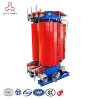 Buy cheap Self Extinguishing 1500kva 33kv 11kv epoxy resins three phase AN Air Cooled Dry Type Transformers from wholesalers