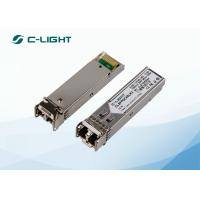 Buy cheap CISCO HP Optical SFP Transceiver Module 2.5G OC48 LR-2 1550nm 80km SMF DFB from wholesalers
