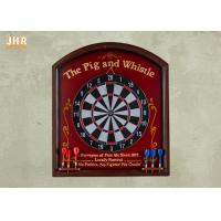 Buy cheap Antique Wall Dart Board Wooden Wall Plaques Pub Signs Decorative MDF Wall Plaque Signs from wholesalers