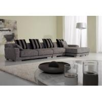 Buy cheap Grey White Modern Fabric Sofas , 2 Seater 3 seater sofa set Fabric from wholesalers