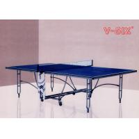 Buy cheap New Design Double Foldable Table Tennis Table More Stable For Indoor Recreation from wholesalers