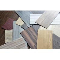 Buy cheap Waterproof Wood Grain PVC Floor Tiles No - Wax 9X48 Installed With Glue from wholesalers
