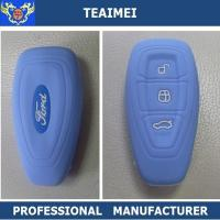 Buy cheap Fancy Colorful BLUE Remote Silicone Car Key Case For Ford Mondeo from wholesalers