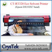 Buy cheap CrysTek CT-RT320 inkjet printer with Epson dx5 or dx7  printhead, 1440dpi, vinly, flex, soft-flim printing from wholesalers