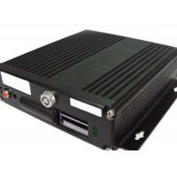 Buy cheap G - Sensor GPS HDD Mobile DVR  4 Channel  With 4 - Ch Audio Input For Bus from wholesalers