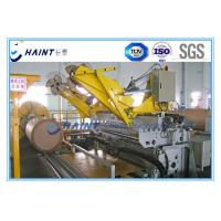 Buy cheap Jumbo Kraft Roll Wrapping Machine Fully Automated With Customized Color product