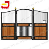 Buy cheap Steel Frame Bamboo Horse Stall Gates , Custom Prefab Horse Stables from wholesalers
